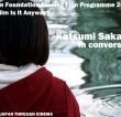 Katsumi Sakaguchi in conversation