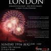 8/19 (sun) 13:99 ~15:00 LIGHT UP LONDON