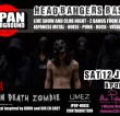 Kobe Metal Outfit BRAIN DEATH ZOMBIE Make International Debut in London on 12 January 2013