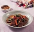 "Discover Korean Food 136: Dr. Sook-Ja Yoon's ""Dotorimuk-muchim (Seasoned Acorn Starch Jelly)"""