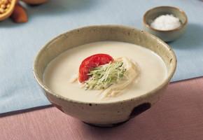 "Discover Korean Food 159: Dr. Sook-Ja Yoon's ""Kong-guksu, Noodles in Chilled White Bean Soup"""