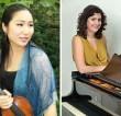 Megumi Rolfe (violin) with Belinda Jones (piano)