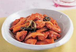 """Discover Korean Food 173: Dr. Sook-Ja Yoon's """"Dak-Galbi-Bokum"""""""