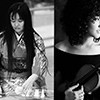 Music for koto and sho, female voice, violin and electronics