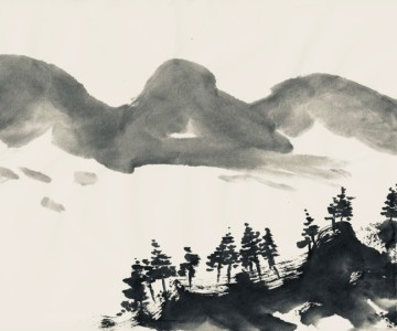 Japanese Ink Painting Course – Ink Landscapes