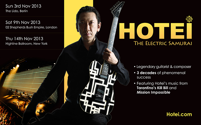 HOTEI Announces Band Members for November 2013 International