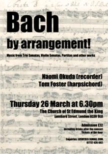 Bach flyer