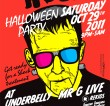 HOLIC Halloween Party with Mr G