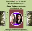 Ayaka Tanimoto (mezzo-soprano) and Kumi Matsuo (piano) – 'A Concert For Christmas'